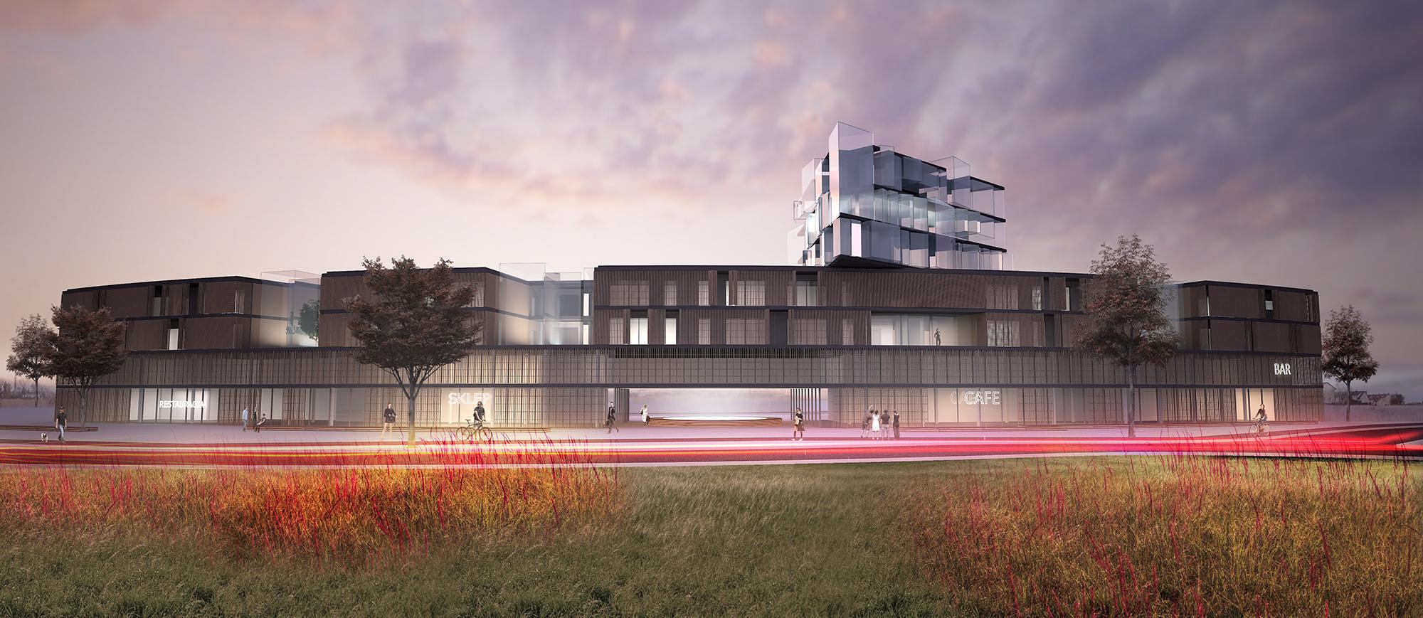 Wyróżnienie honorowe w konkursie na projekt zabudowy mieszkaniowej w Kielcach