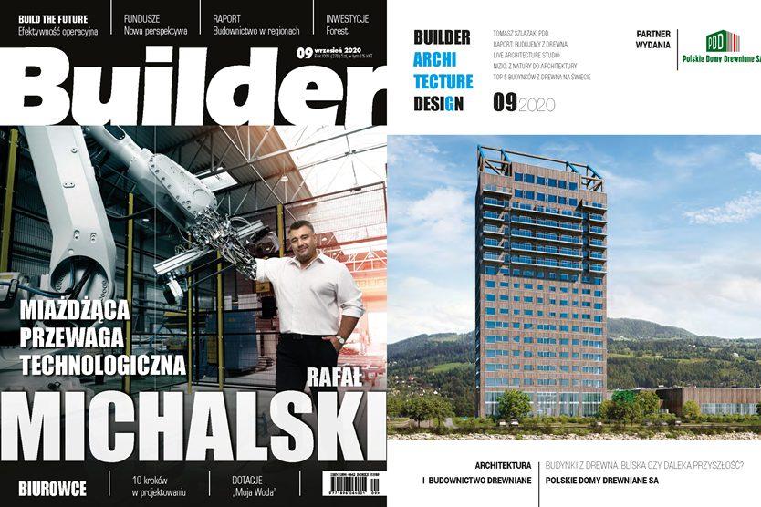 Wywiad dla BUILDER'A